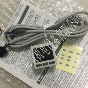 日本SMC压力表ZSE20-N-M5-L新品特价数字压力表混合压真空压用