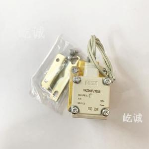 日本SMC 原装正品 2通电磁阀 VXZ240FZ1BXB